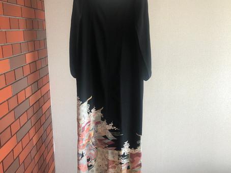海外在住日本人女性に着てほしい、京都発オートクチュールKIMONOドレス