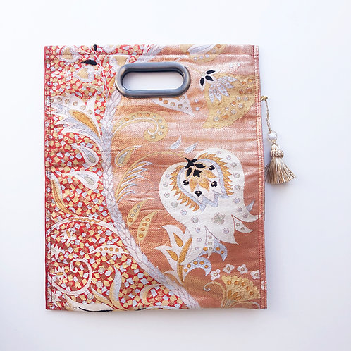 KIMONO Clutch Bag Orange Thorn