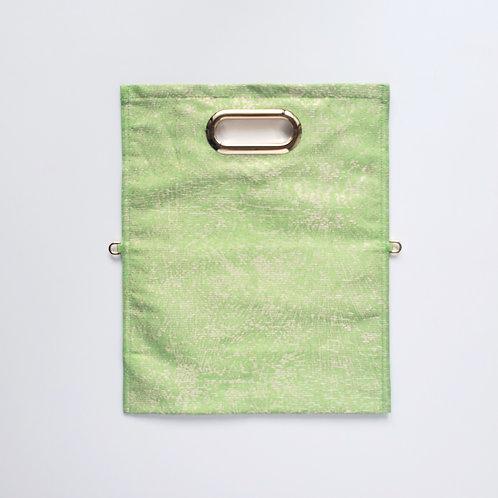 KIMONO Clutch Bag Lime Green