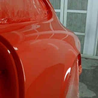 1970 911 T collision repair+