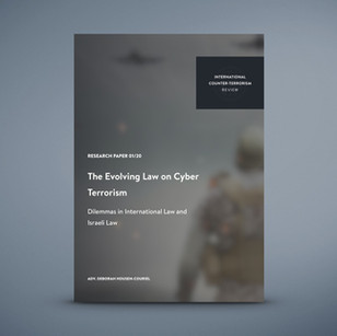 The Evolving Law on Cyber Terrorism