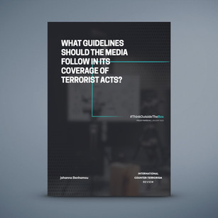 What Guidelines Should the Media Follow in Its Coverage of Terrorist Acts?