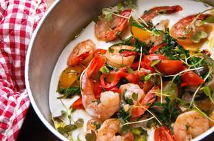 Морепродукты блюдо