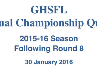 GHSFL Individual and Team Championship Tournament Information