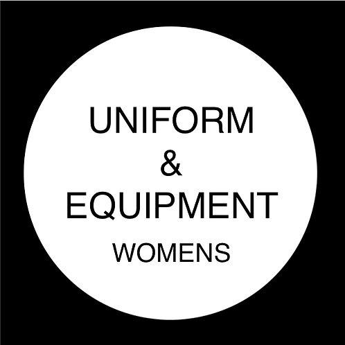 Uniform & Equipment - Womens