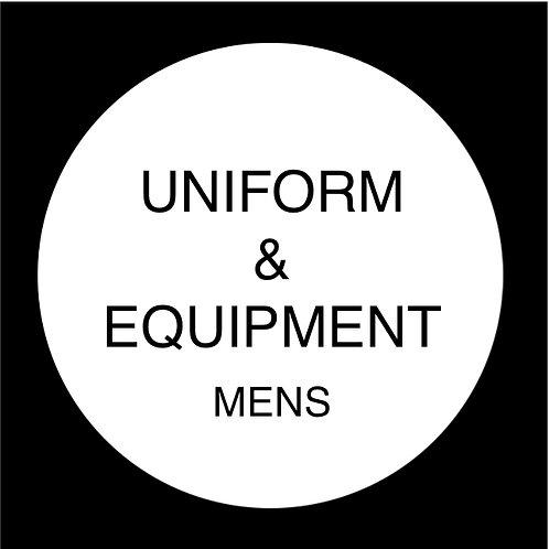 Uniform & Equipment - Mens