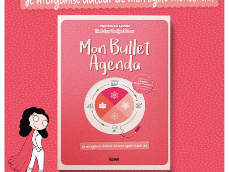 Le 1er Bullet Agenda qui t'aide à plannifier ta vie autour de ton cycle menstruel !
