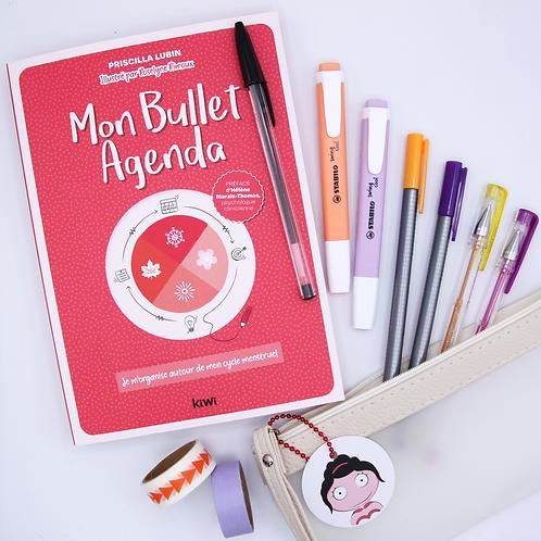 Agenda et Kit Papeterie mix orange & violet