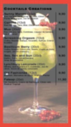 Cocktails Créations