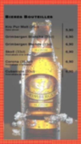 Bieres Bouteilles