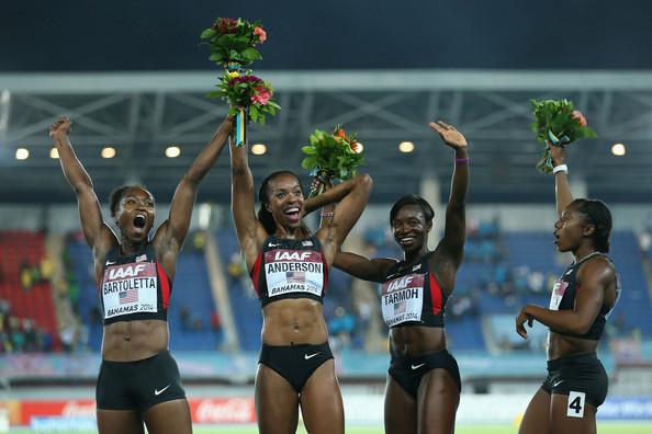 Alexandria+Anderson+IAAF+World+Relay+Cha