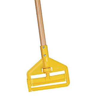 Wood/Plastic Quick Change Mop Handle