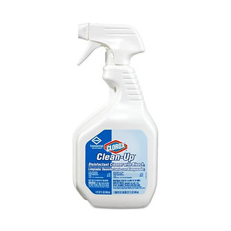 CLOROX SPRAY COMMERCIAL STRENGTH CLEANUP DISINFECTANT - 32OZ