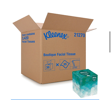 Kleenex Boutique Facial Tissue