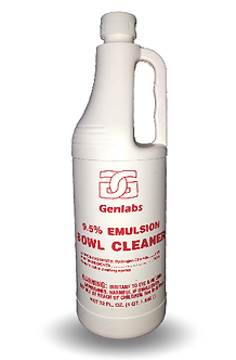 Emulsion Bowl Cleaner 9.5%