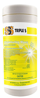 Triple S Disinfecting Wipes