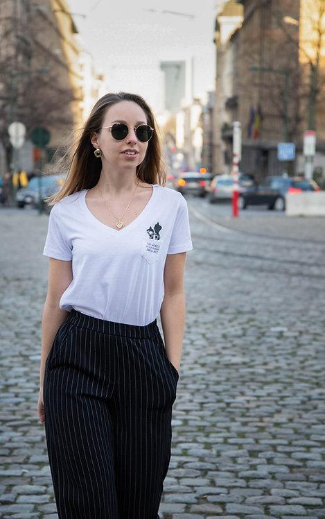 Classy V T-shirt