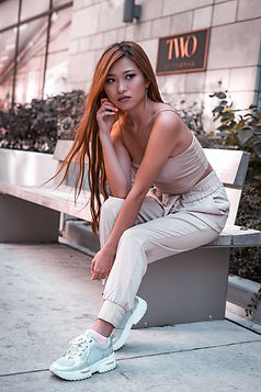 Fashion model poses for Mr Brian James at Toronto and travel photographer. He specializes in fashion, portraits, weddings, boudoir, weddings and commercial photography.