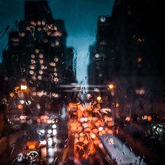 Raining in Toronto