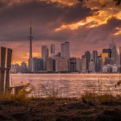 Sitting near Toronto