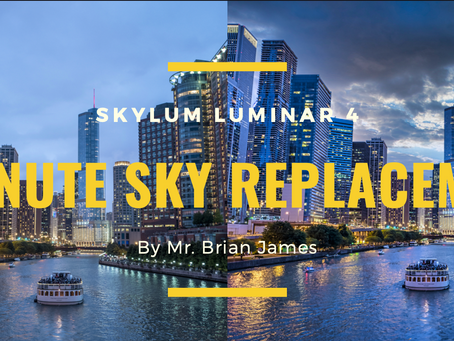 Replace a sky in under 60 seconds with Luminar 4. Finally an easy sky swap solution.