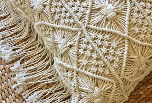 Macrame pillow covers (classic)
