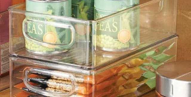 Fridge/Pantry clear bins