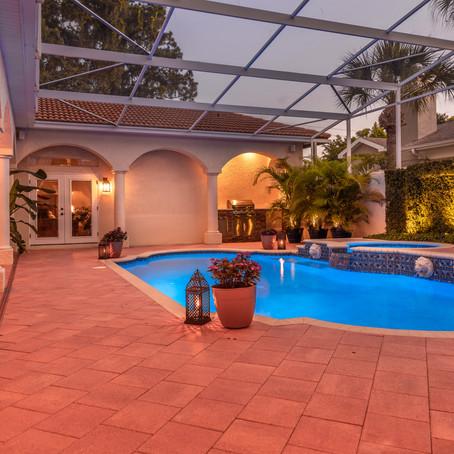 Seminole, FL Pool Twilight