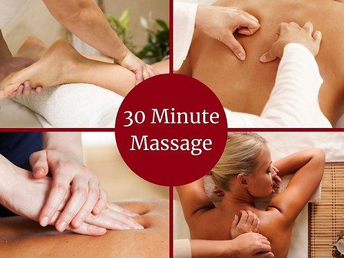 E-Voucher 30 Minute Massage
