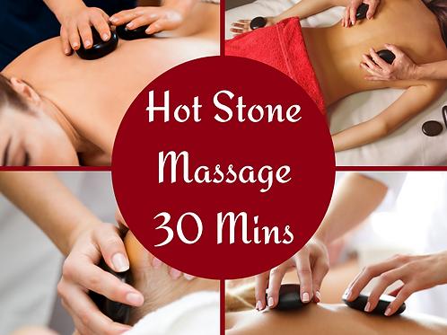 E-Voucher Hot Stone 30 Minute Massage