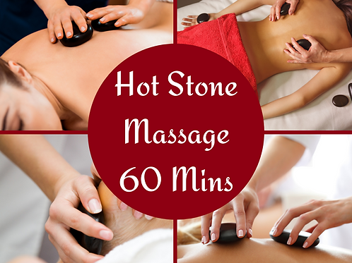 E-Voucher Hot Stone 60 Minute Massage