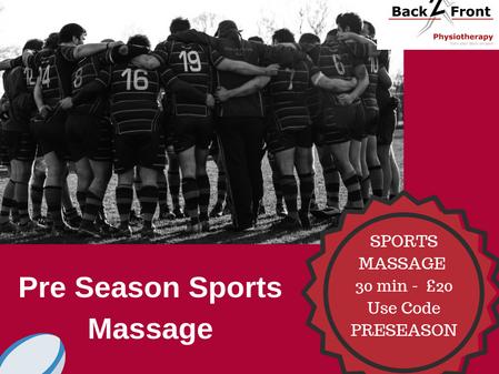 Pre-Season Sports Massage