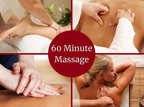 E-Voucher 60 Minute Massage