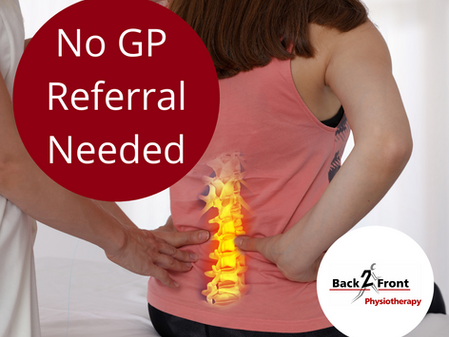 No GP Referral Needed!