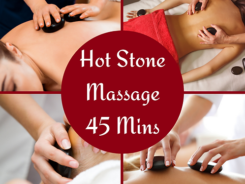 E-Voucher Hot Stone 45 Minute Massage