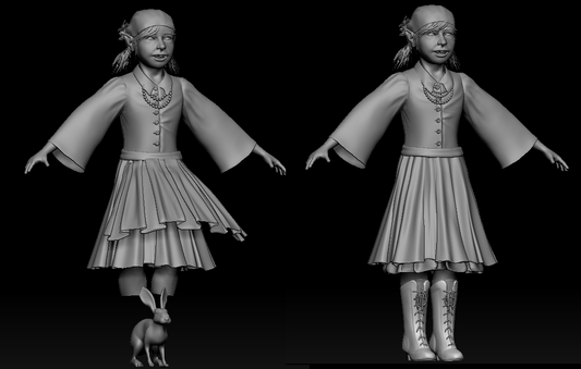 Skirt and Boots redo