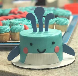 Whale cake