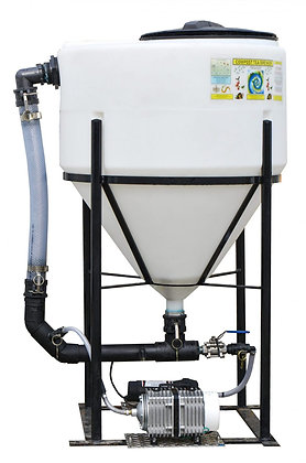 60 GALLON ELECTROMAGNETIC CYCLONE SYSTEM