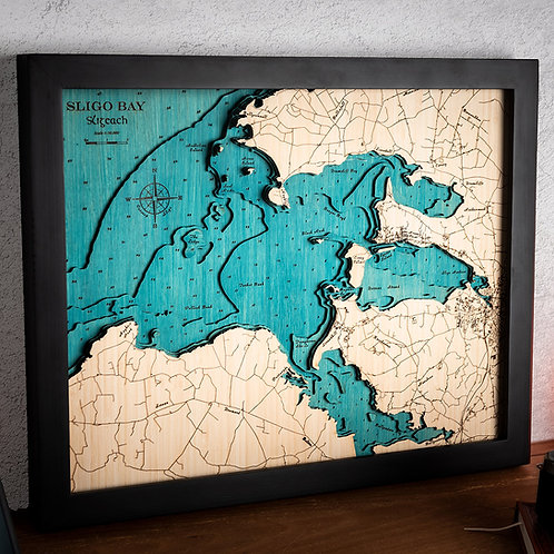 Sligo Bay medium map