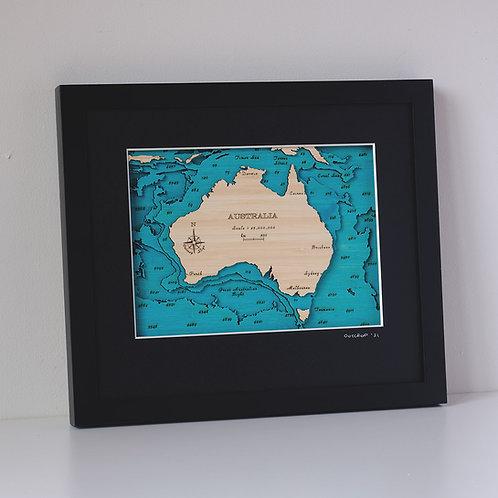 Australia Small Map