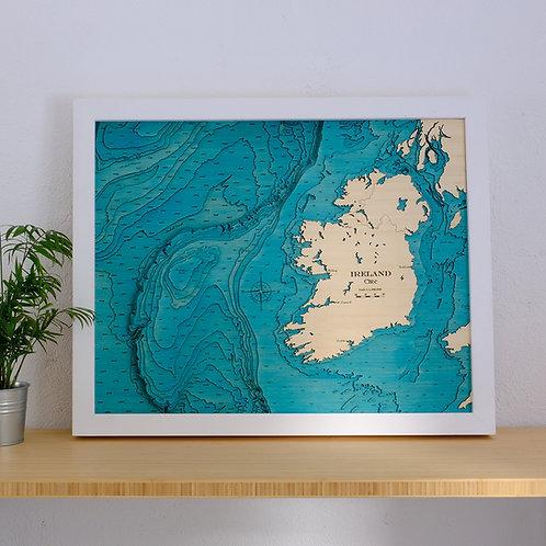 Large Ireland Map HD