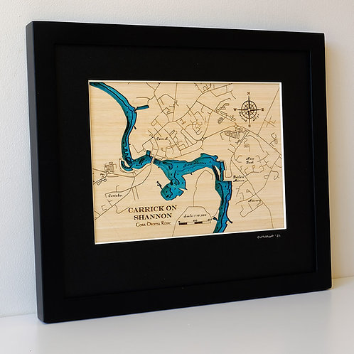 Carrick-on-Shannon Small Map