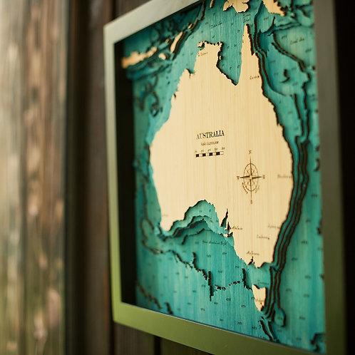 Australia Medium Map