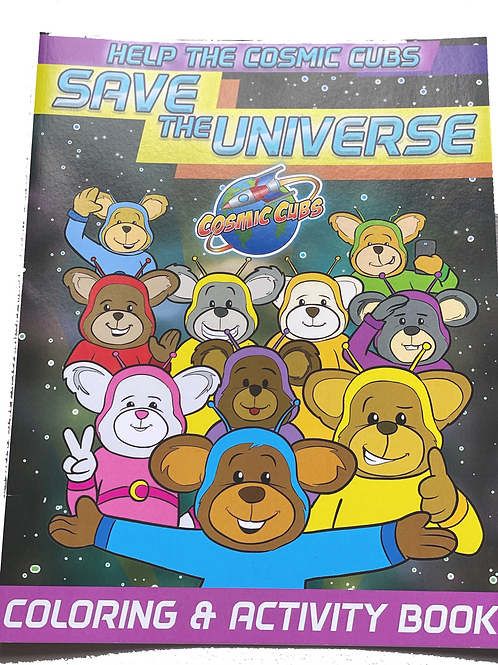 Cosmic Cubs Color & Activity book