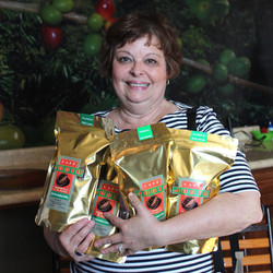 Bags of delicious Mexican coffee