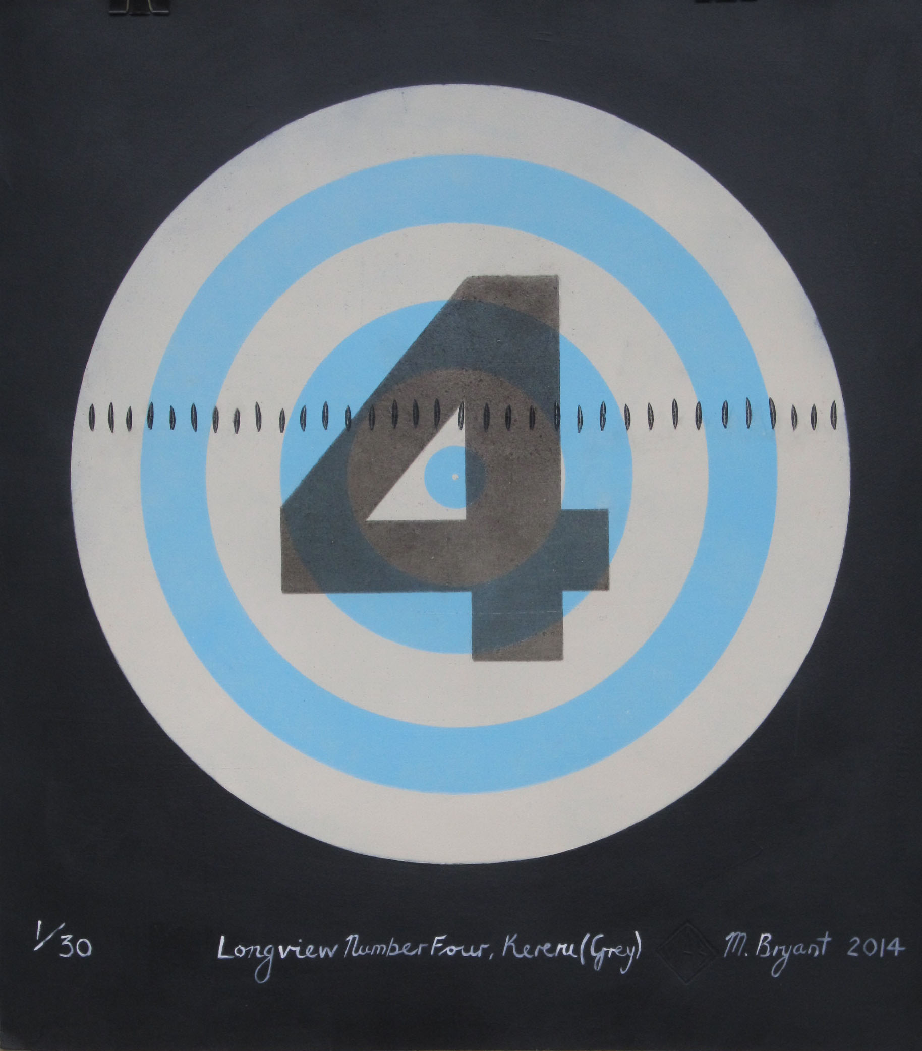 Longview Number Four, Kereru (Grey) Michele Bryant 2014 (2)
