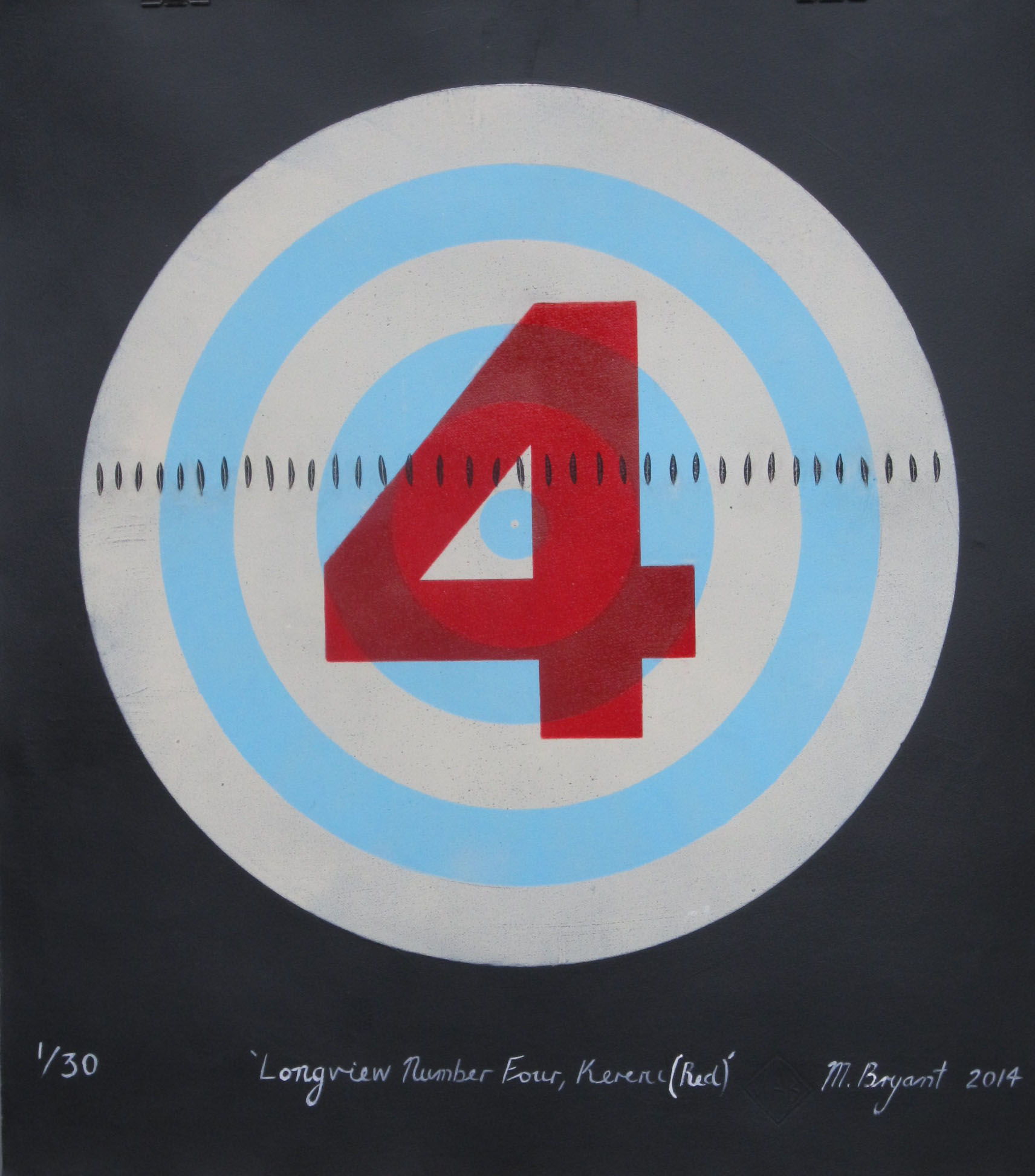 Longview Number Four, Kereru (Red) Michele Bryant 2014 (2)