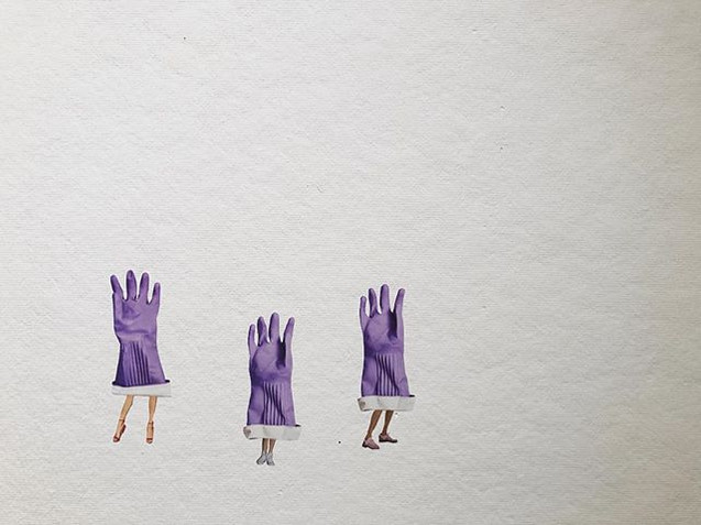 D. G. G. G._Dish Glove Girl Gang _For my