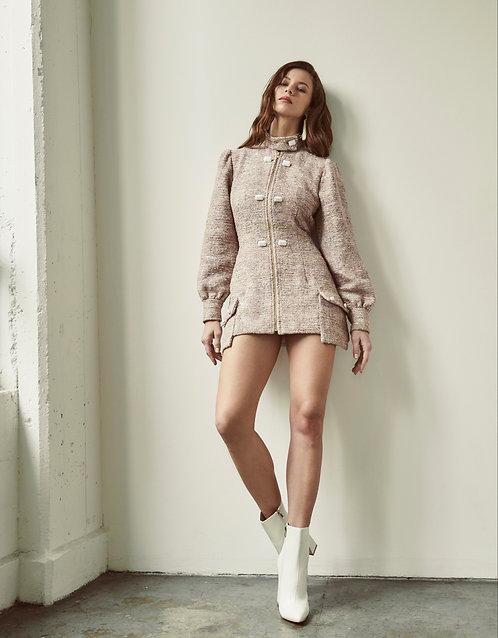 Celina Tweed Coat Dress