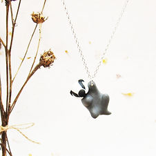 Badger Necklace